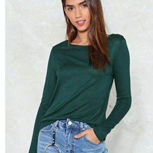 Nasty gal/Brave soul down to the tee top green